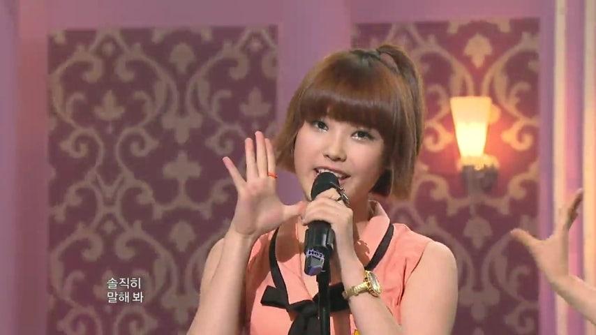 【TVPP】 아이유 - '있잖아' @ 쇼! 음악중심 2009